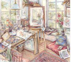 Kim Jacobs Artist's Studio