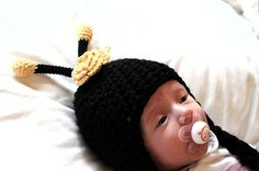 Bee hat Newborn and 0-3M Photo Prop