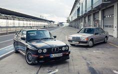Mercedes-Benz 190E 2.3-16 vs. E30 BMW M3 - Motor Trend Classic