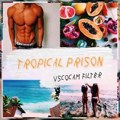 // here's a tropical filter I made in dedication of summer and orange is the new black. This filter brings out the colors orange & blue the most. I hope you guys like it. --details-- • filter: c1 | +12 • temperature: -1 • contrast: +3 • exposure: -2 • fade: +1