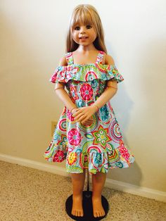 At Beasfashions girls dresses collection, Quality Fabric, colorful, ruffles, strap shoulder, Design and Made in the USA by Beatriz in Texas, free shipping 2 day delivery, Beasfashions have excellent customer services 832-226-6350 to-place in order or Questions 🌸🌸🌸🌸