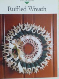 Wreath crochet pattern  Vanna's  673 by CarolsCreations77 on Etsy, $2.50