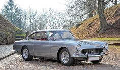 1962 Ferrari 250 GTE 2+2 Series II by Pininfarina. Auctioning this Saturday. Where would you drive it?