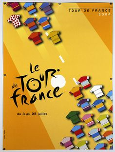 Tour de France 2004 Official Poster