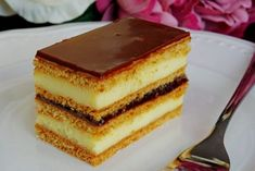 Slovak Recipes, Czech Recipes, Baking Recipes, Dessert Recipes, Romanian Food, Lunch Snacks, No Bake Cake, Food Hacks, Sweet Recipes