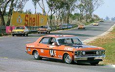 1970 Ford XW Falcon GTHO Phase 2 Wins Bathurst - Allan Moffat by aussiefordadverts, via Flickr