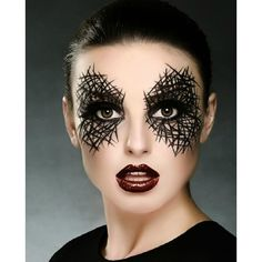 25 Spiderweb-Themed Makeup Ideas That Will Turn Heads on Halloween ...