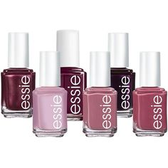 essie Plums Nail Polish ($7.20) ❤ liked on Polyvore