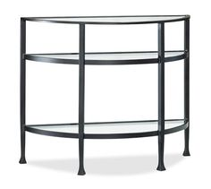 Tanner Demilune Console Table | Pottery Barn