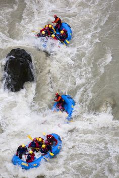 River Rafting on the East Glacial River in Iceland