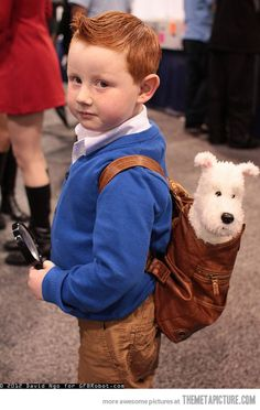 Not gonna lie.  I'm making my future kid use this as a Halloween costume..