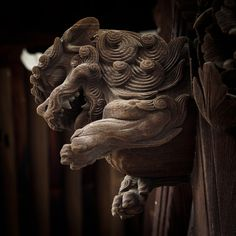 狛犬 komainu KYOTO JAPAN