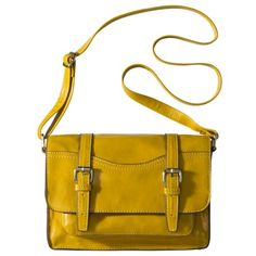 Mossimo Supply Co. Small Lady Satchel - Sunflower