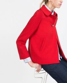 Zara red back pleat blazer: http://www.stylemepretty.com/living/2016/03/24/the-cutest-spring-coats-at-every-price/:
