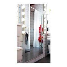 LEDSJÖ Candeeiro LED de parede, aço inoxidável - - - IKEA