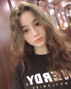 Beautiful Girl Makeup, Cute Beauty, Beauty Full Girl, Cute Girl Face, Cute Girl Photo, Aesthetic People, Aesthetic Girl, Pretty Nose, Bebe Love