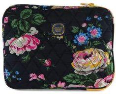 Joules Women's Floral Navy Blue iPad Case