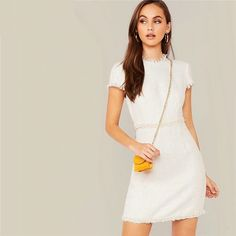Cap Sleeve Elegant Bodycon Short Ladies Dress#minidresses #shortdresses #occationaldresses #nightout #summeroutfits #summercollection #mididresses #partywears #PDSFashion Fall Collection, Trendy Collection, Dress Collection, Sexy Party Dress, Sexy Dresses, Short Dresses, Ladies Dresses, Party Dresses, Bodycon Outfits