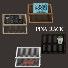Sims4  Pina rack storage