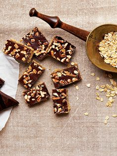 Recipes from The Nest - Yuletide Toffee Squares