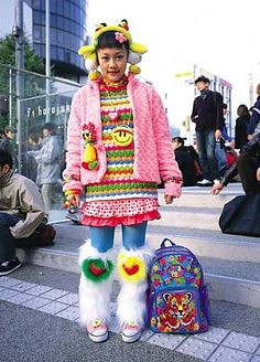 TOKYO A-GO-GO COOL TEENS IN HARAJUKU MAKE A FASHION ASSAULT FROM THEIR IMAGINATIONS
