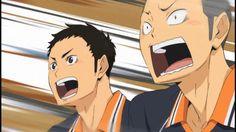 tanaka's face. Tanaka Haikyuu, Haikyuu Anime, Anime Couples, Disney Characters, Fictional Characters, Family Guy, Disney Princess, Face, The Face