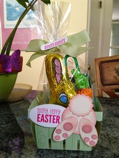 Five Bichons and Me: Stampin Up Berry Baskets for Easter!