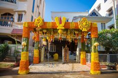 Shopzters is a South Indian wedding site Diwali Decorations At Home, Wedding Stage Decorations, Backdrop Decorations, Backdrops, Desi Wedding Decor, Diy Wedding Backdrop, Wedding Mandap, Naming Ceremony Decoration, Marriage Decoration