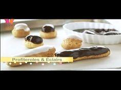 Como hacer Pasta Choux o Masa de crema con Bake With Anna Olson programa...