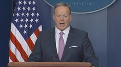 Sean Spicer gets calmer for Monday press conference - https://movietvtechgeeks.com/sean-spicer-gets-calmer-monday-press-conference/-President Donald Trump's White House secretary Sean Spicer was much calmer at Monday's press conference. He spend more time talking about size issues (the inauguration) and basically let everyone know just how insecure Trump is when it comes to issues of size.