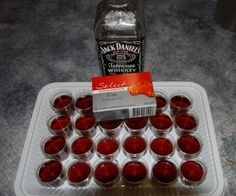 Jack Daniels jelly shots