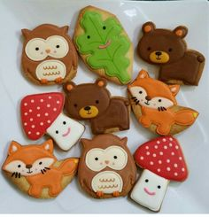 Forest cookies