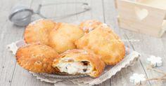 Cassati with creamy Sicilian ricotta and no eggs Italian Cookies, Italian Desserts, Mini Desserts, Cookie Desserts, Cookie Recipes, Dessert Recipes, Panzarotti Recipe, Cream Puff Filling, Scones