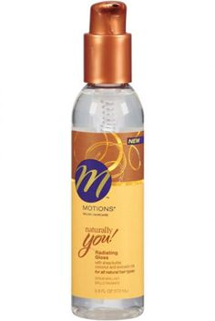 Motions Naturally You Radiating Gloss: Humidity plus sweat can cause hair to frizz. Using a light hair serum will keep hair shiny, smooth and in place.