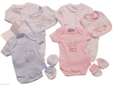 BABY PREMATURE TINY BABY CLOTHES 4 PIECE INCUBATOR//HOSPITAL SET 4lbs 5lbs NEW