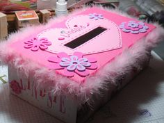 girly valentine box ideas