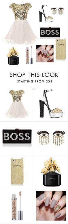 """""""Untitled #44"""" by inastefanuta ❤ liked on Polyvore featuring Giuseppe Zanotti, Milly, Sydney Evan, Kate Spade and Marc Jacobs"""