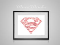 Hey, I found this really awesome Etsy listing at https://www.etsy.com/listing/260355572/personalised-superman-word-art