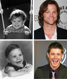 They're precious I can't handle this!. HE ADORABLES J2 @JensenAckles and @Jarpad <3 <3 #Supernatural #Jensen #Jared