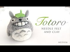 Totoro is my favourite Ghibli film so I obivously had to made a tutorial with him! I used a kit from 1127Handcrafter and I was REALLY impressed by the quali...