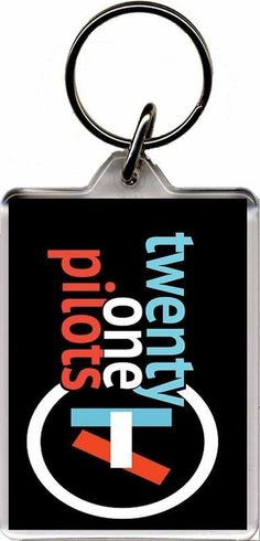 Twenty One Pilots - Plastic Key Ring A