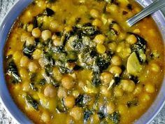 Chili Recipes, Soup Recipes, Diet Recipes, Vegetarian Recipes, Healthy Recipes, Spinach Recipes, Avocado Recipes, Breakfast Soup, Cuban Dishes