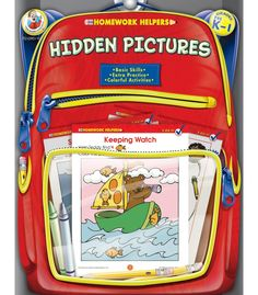Hidden Pictures Homework Helper provides children in preschool to grade 1 with extra help in learning basic skills. Packed full of fun-to-do activities and appealing art, children will have fun completing the reproducible pages and learning visual discrimination at the same time. Answer keys are also included where needed.
