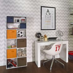 We've assembled three top organization ideas to help your kids keep their bedrooms and playrooms neat and tidy. Read our blog to make cleanup easier and more fun for everyone. #KidStorage #TeenRoom #HomeOrganization Kids Storage, Neat And Tidy, Playrooms, Clean Up, Organization Ideas, More Fun, Office Desk, Corner Desk, Bedrooms