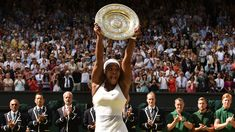 Williams completes 'Serena Slam' with 6th Wimbledon title