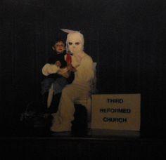 9. Jesus Christ!  creepy-easter-bunny