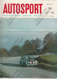 Autosport Magazine 21 July 1967.  Price £21
