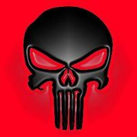 Black on red Punisher skull photo PunisherRed. Punisher Marvel, Head Tattoos, Skull Tattoos, Punisher Skull Tattoo, Hero Symbol, Assassins Creed Logo, Apple Iphone Wallpaper Hd, Skull Wallpaper, Lion Wallpaper