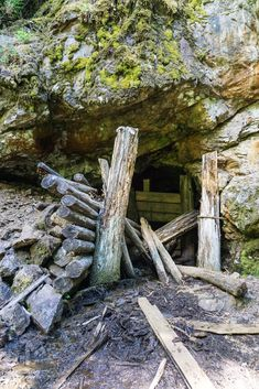 An abandoned mine shaft along the Skagit River Trail in Manning Provincial Park. Just one of 15 unusual hikes near Vancouver. Places To Travel, Places To See, Vancouver Hiking, River Trail, Natural Phenomena, Canada Travel, Abandoned Places, Hiking Trails, Trekking