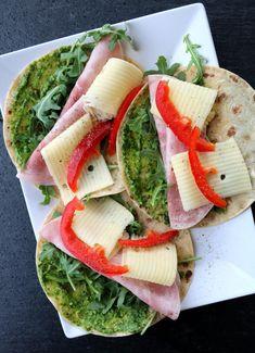 Tuna, Pesto, Fish, Cilantro, Spinach, Red Peppers, Pisces, Atlantic Bluefin Tuna